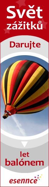 Darujte zážitek let balónem od ESENNCE.CZ